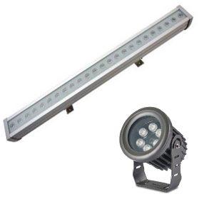 Dekorativne LED svetiljke za fasade
